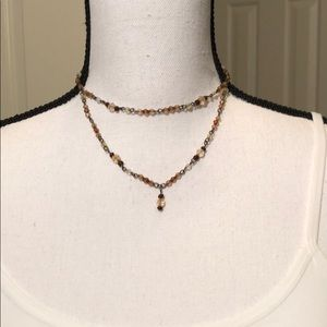 Jewelry - FREE with purchase/Double Choker Necklace